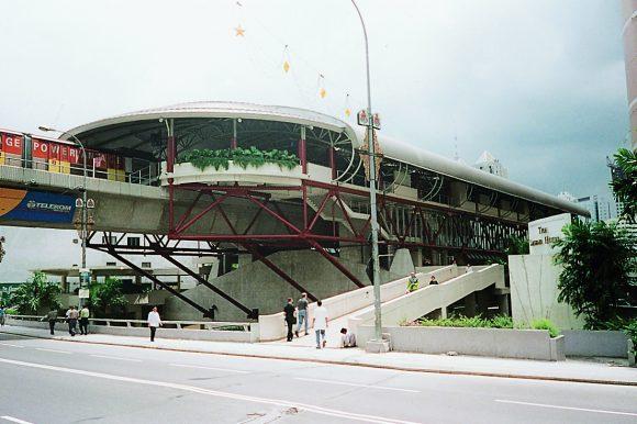 LRT Station @ PWTC